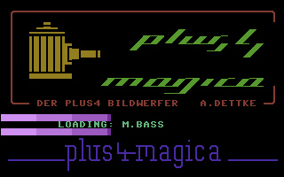 Magica - The Plus4 Projector